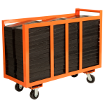 Base Weight Storage Cart for Pipe and Drape