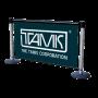 Q-Banner Custom Retractable Belt Stanchion Advertising Billboard System