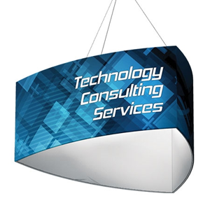 Shield Hanging Display for Trade Shows and Exhibits